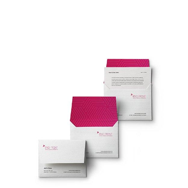 Печать конвертов с разработкой дизайна Ростов